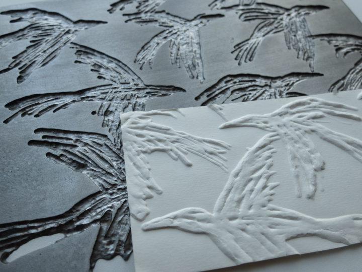 leptaný ocelový plech pro tisk grafiky